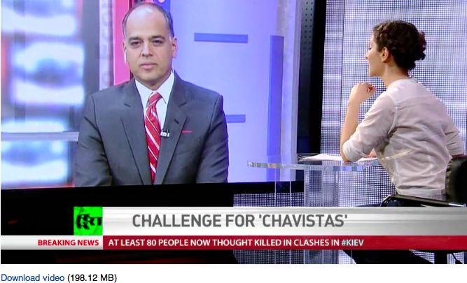 Andrés Izarra: EEUU está detrás del caos antidemoc...