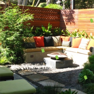 Contemporary Landscape By Debora Carl Landscape Design. Use The Corners Of  The Yard