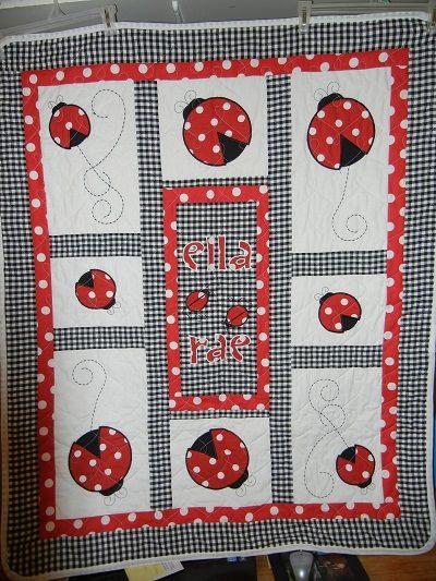 Name: Ladybug Baby Quilt.jpg Views: 1890 Size: 156.7 KB