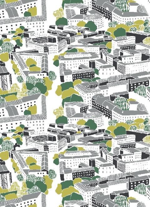 Finlaysons Töölö-cloth pattern for all the Töölö fans out there.