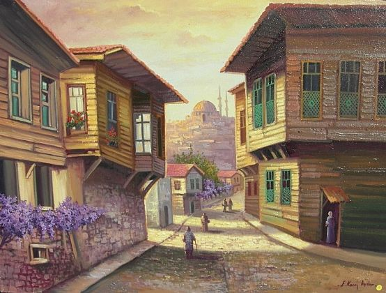 Old İstanbul houses