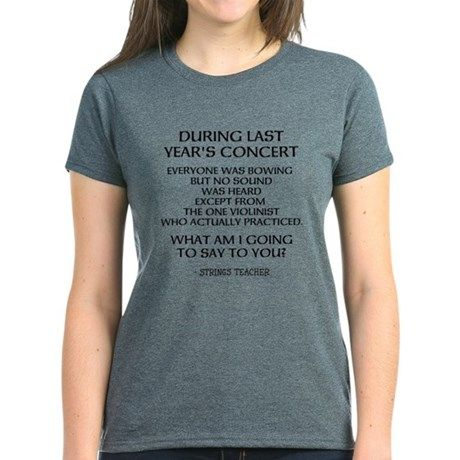 STRINGS TEACHER HUMOR T-Shirt
