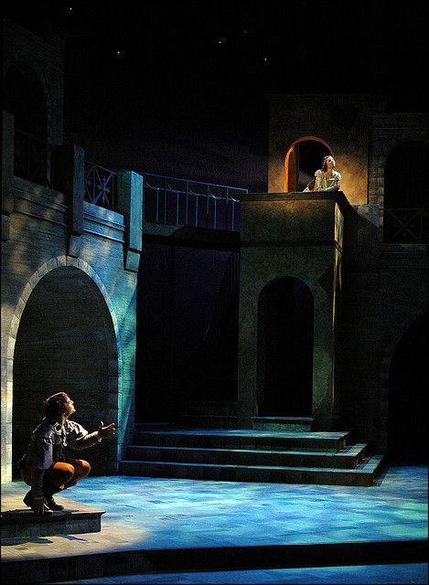"""Romeo & Juliet"" at Rutgers University's Mason Gross School of the Arts (set…"
