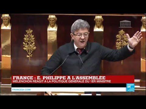 REPLAY - Discours de Jean-Luc Mélenchon à l'Assemblée Nationale