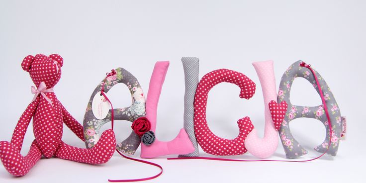 Sew letters Szyte literki i misio