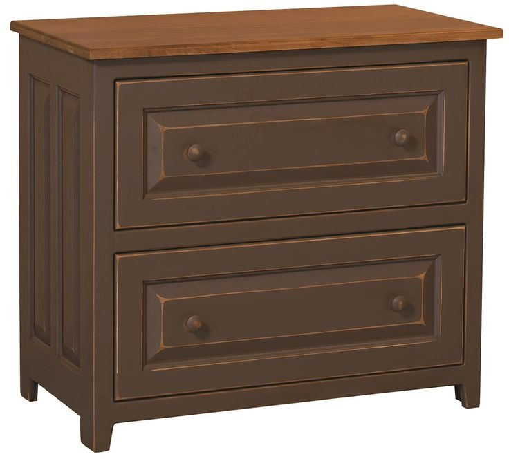 Savannah Amish Lateral Filing Cabinet A delightful solid wood filing cabinet, the Savannah Amish Lateral Filing Cabinet is made of solid pine. Pine is soft yet stable, offering long lasting durability at a very affordable price.