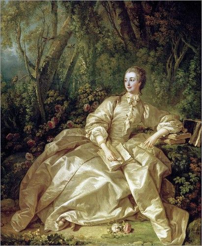 Reinette: Madame de Pompadour by Boucher More At FOSTERGINGER @ Pinterest