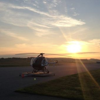 Learn to fly a helicopter near Columbus