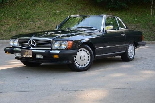 Back in the Day.... 1988 Mercedes 560SL