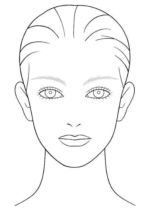 36 best face chart images on pinterest