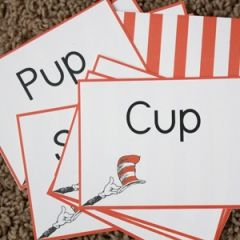 Dr. Suess Inspired Rhyming Game