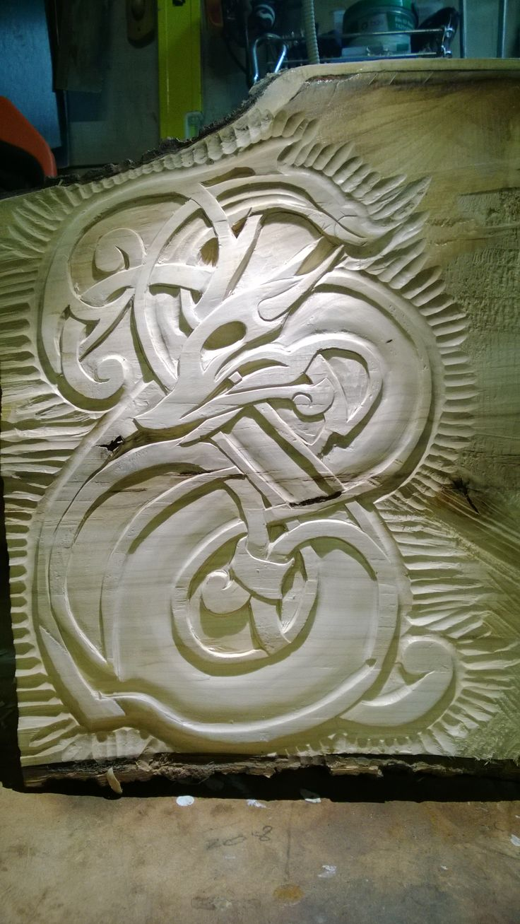 Viking art | Wood carving | Pinterest | Art, Vikings and ...