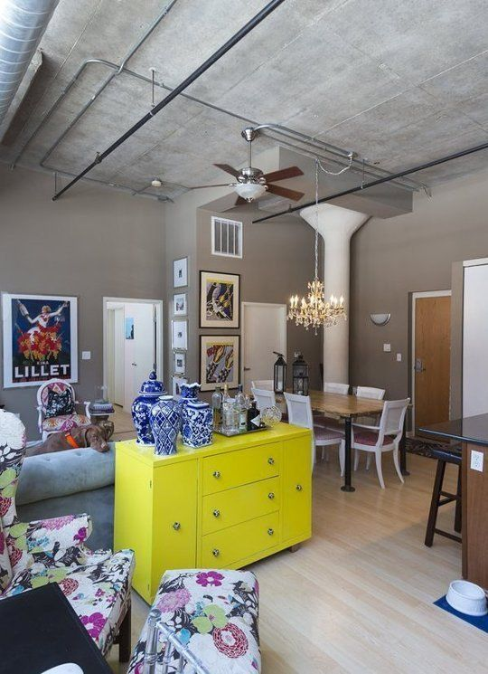 21 Easy Unexpected Living Room Decorating Ideas: Unexpected Wall Art Ideas From An Eclectic Loft