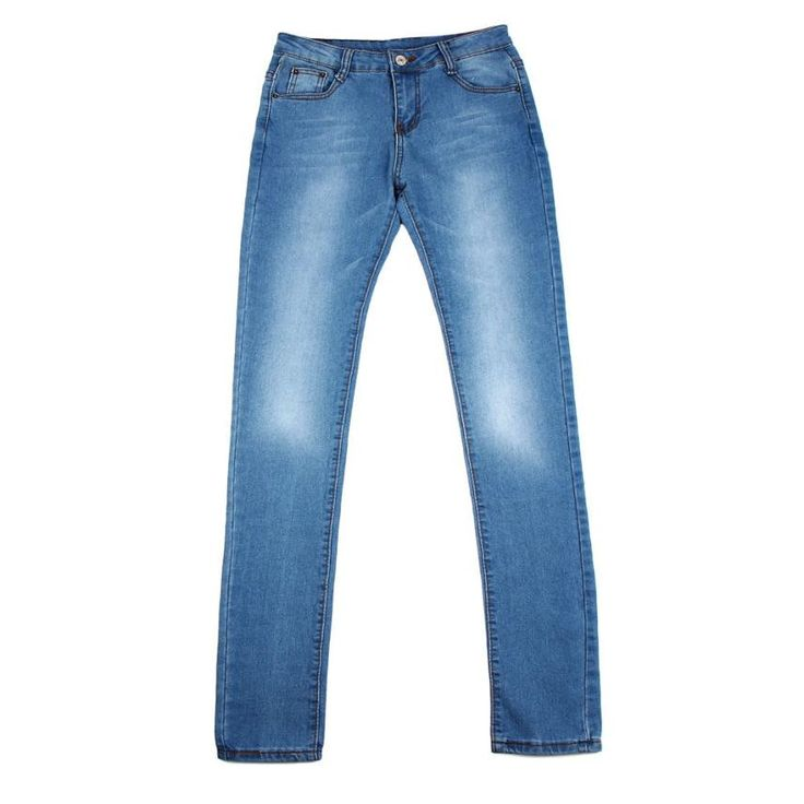Item Type: Jeans Gender: Women Fit Type: Skinny Decoration: Pockets Jeans Style: Pencil Pants Waist Type: High Fabric Type: Stripe Material: Cotton Length: Full Length Closure Type: Button Fly Wash: Ligh