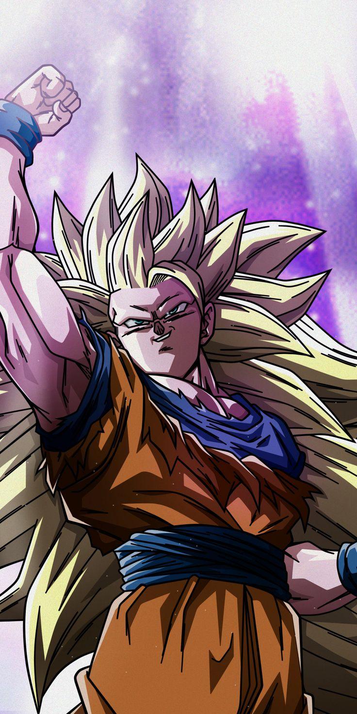 Goku, super saiyan, anime, dragon ball, 1080x2160