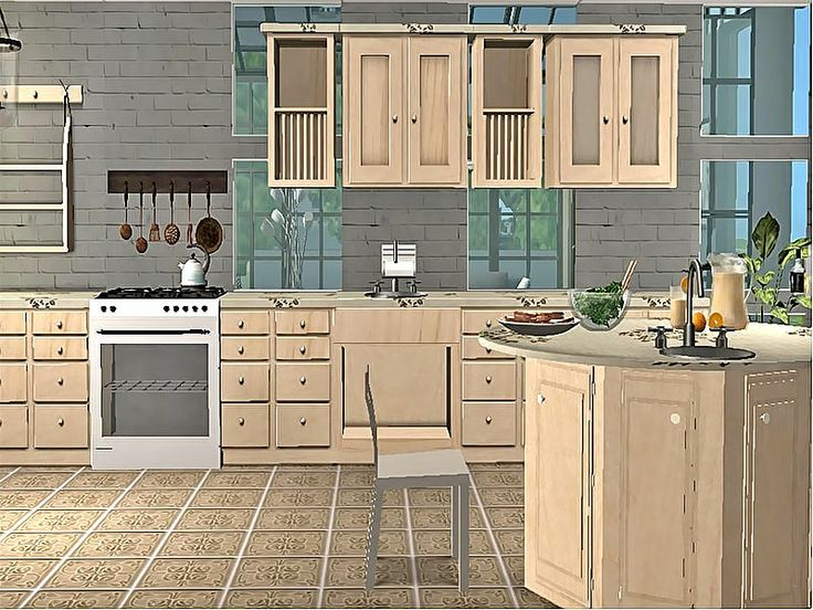 1000 images about sims 2 kitchens on pinterest silent for Sims 2 kitchen ideas