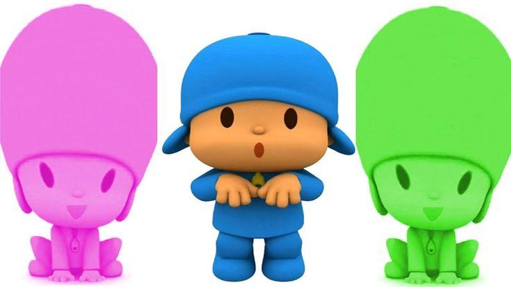 Aprende Los Colores con Pocoyo Reacción en Español ★ Videos Para Niños y...
