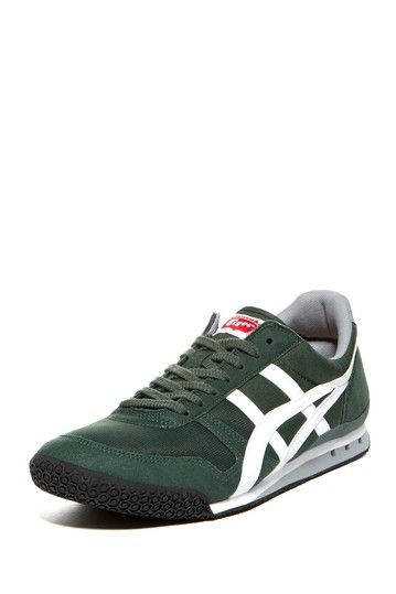 Onitsuka Tiger Ultimate 81 Sneaker: Forest Green. I have 6 of the UL 81's