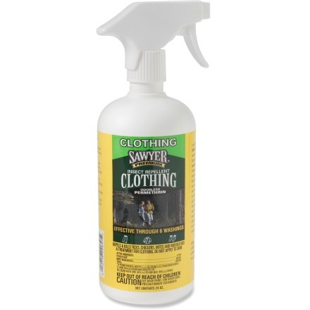 permethrin, spray this on your clothes and your hammock (follow directions) to keep bugs away (weighs nothing!)