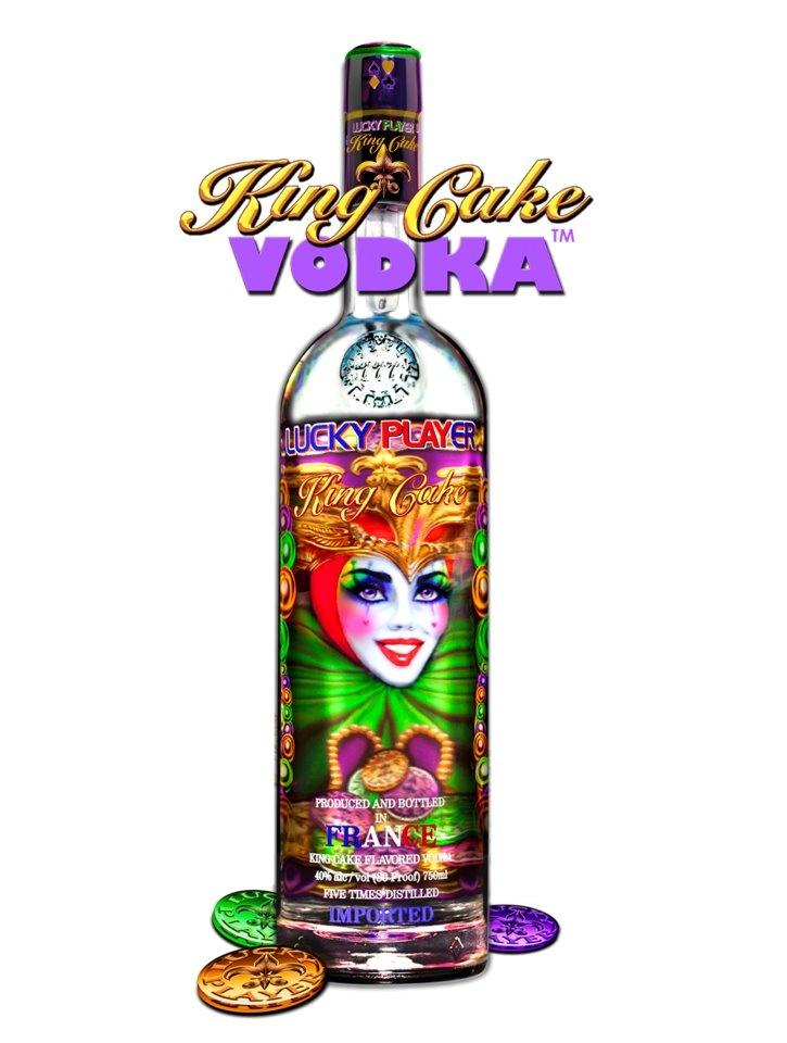King Cake Vodka Mixed Drink