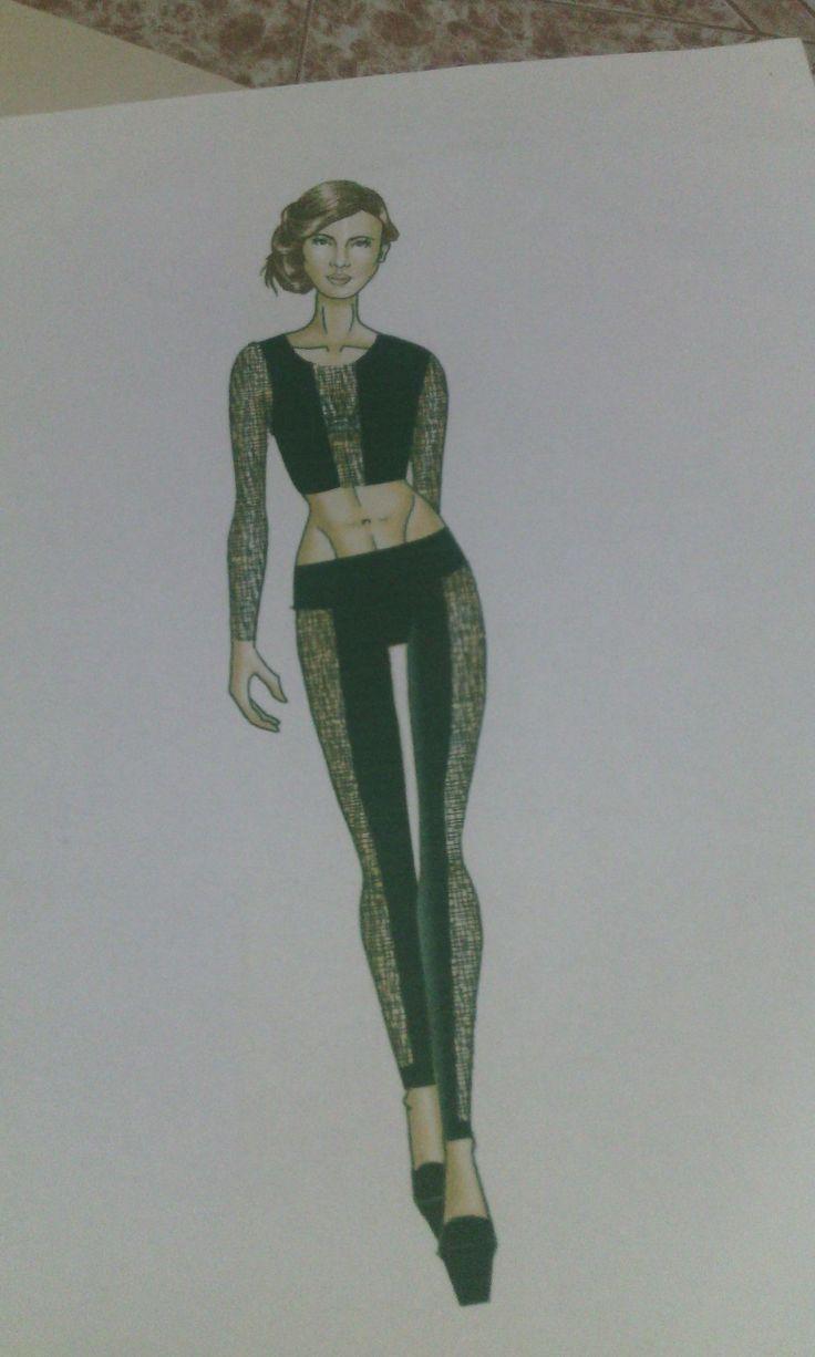 #fashionsketch #illustration #fashiondesign #figurin #moda #runway #reflejo #collection #fashioniswverything
