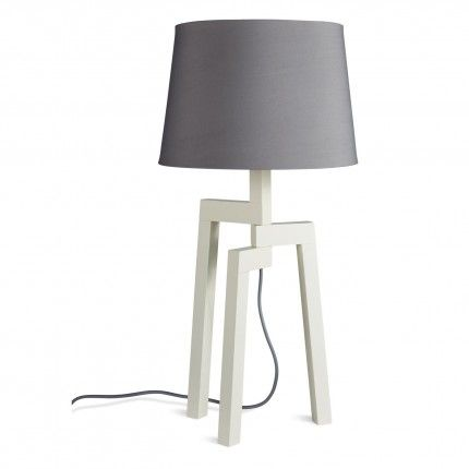 11 best kahn boys nursery table lamps images on pinterest boy stilt table lamp features a wooden tripod base supporting a linen lamp shade shop tripod table lamps from blu dots stilt collection of modern lamps aloadofball Image collections
