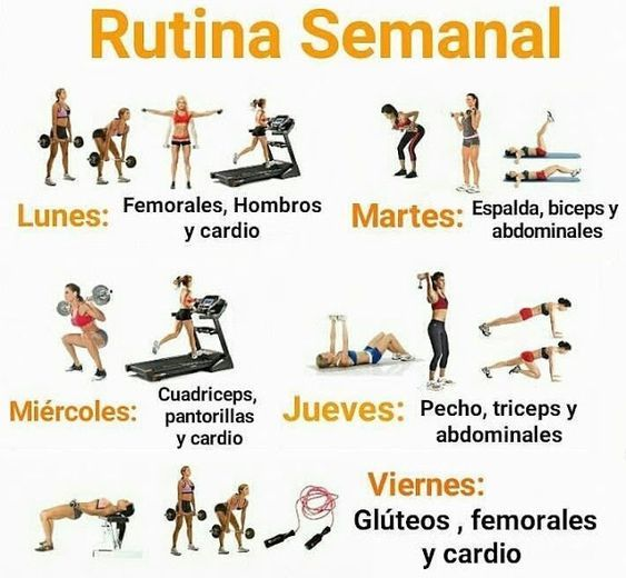 Ejercicios para bajar de peso en el gym mujeres