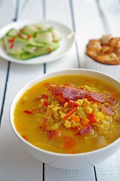 Недавно нашел очень хороший рецепт супа с чечевицей у знакомого всех Джейми Оливера. Получается очень быстро и невероятно вкусно, всё же хорошо, когда все ингредие�…
