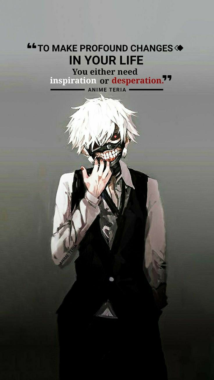 Pin On Anime Quotes T 2 Anime sad quotes wallpaper