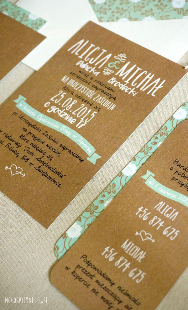 zaproszenia ślubne, oryginalne, ręcznie wykonane, nietypowe, piękne, indywidualne, wedding invitation, wedding invitations