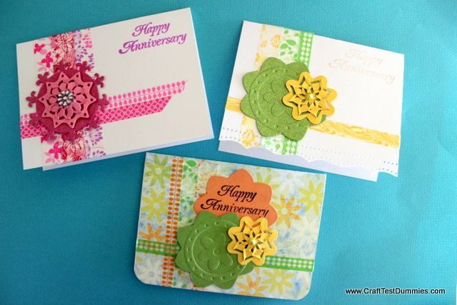 3 ideas for Washi Tape Cards!: Washi Tape Cards, Cards Crafts Washie Tape, Handmade Cards, Craft Projects, Tape Ideas, Card Ideas, Card Making, Craft Ideas