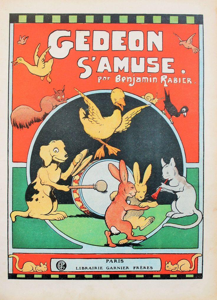 ''Gedeon S'Amuse'' by Benjamin Rabier | eBay