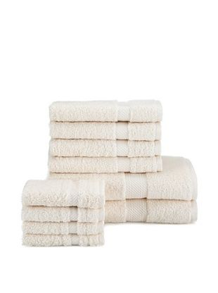 65% OFF Chortex Rhapsody Royale 10-Piece Towel Set, Oyster