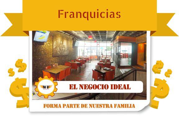 Para quienes andan buscando ideas de franquicias de restaurantes, una franquicia buena, bonita y baratahttp://wingsfactory.com.mx/franquicias/