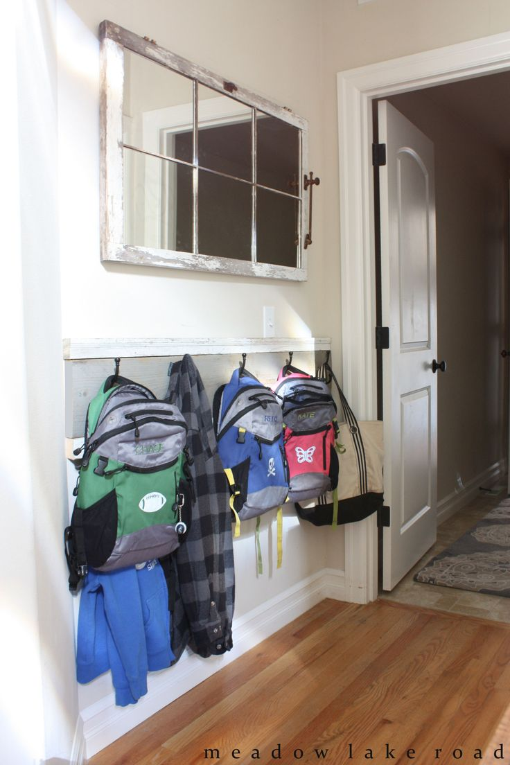 Coat Hanging Solutions best 25+ backpack hooks ideas on pinterest | kids backpack