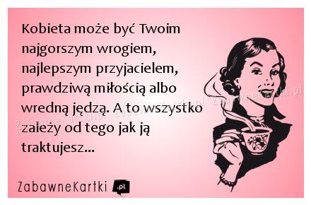 Kobieta może być... - ::: ZabawneKartki.pl :::