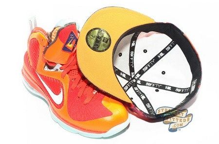 """The Nike """"Galaxy"""" Foamposite Gets Its Own New Era 59Fifty """"Galaxy"""" Fitted Hat59Fifty Galaxies, Nike Galaxies, Era 59Fifty"""