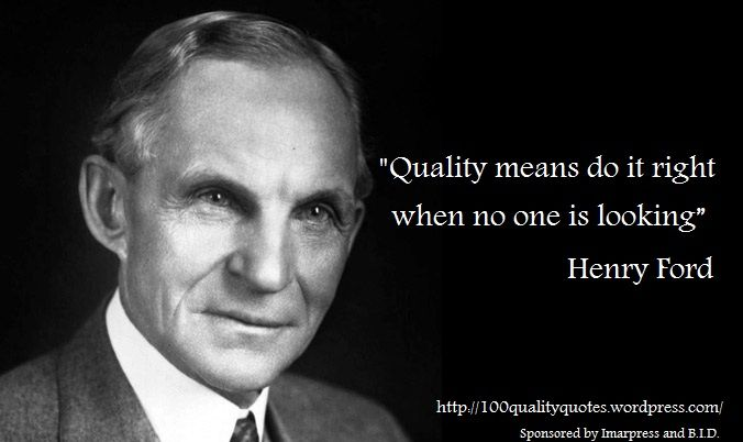 essay on henry ford quotes I knew, before starting to write this post, what we all know about henry ford: founder of ford motorcompany, seminal proponent of mass production in the.