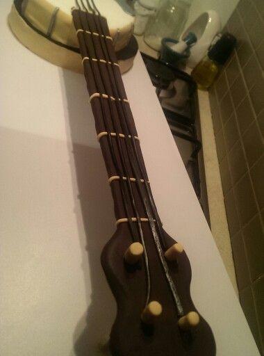 My very own banjo cake