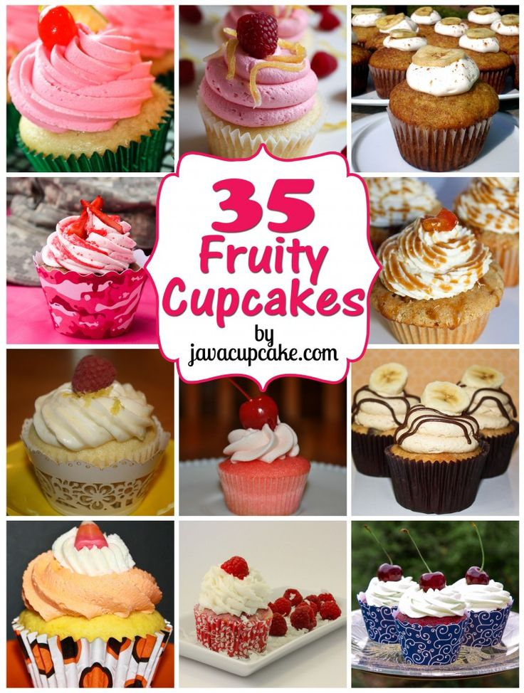 Fruity Cupcake Round Up