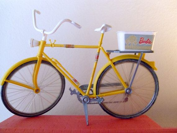 Vintage 70's Barbie Bicycle by dollface1978 on Etsy, $20.00