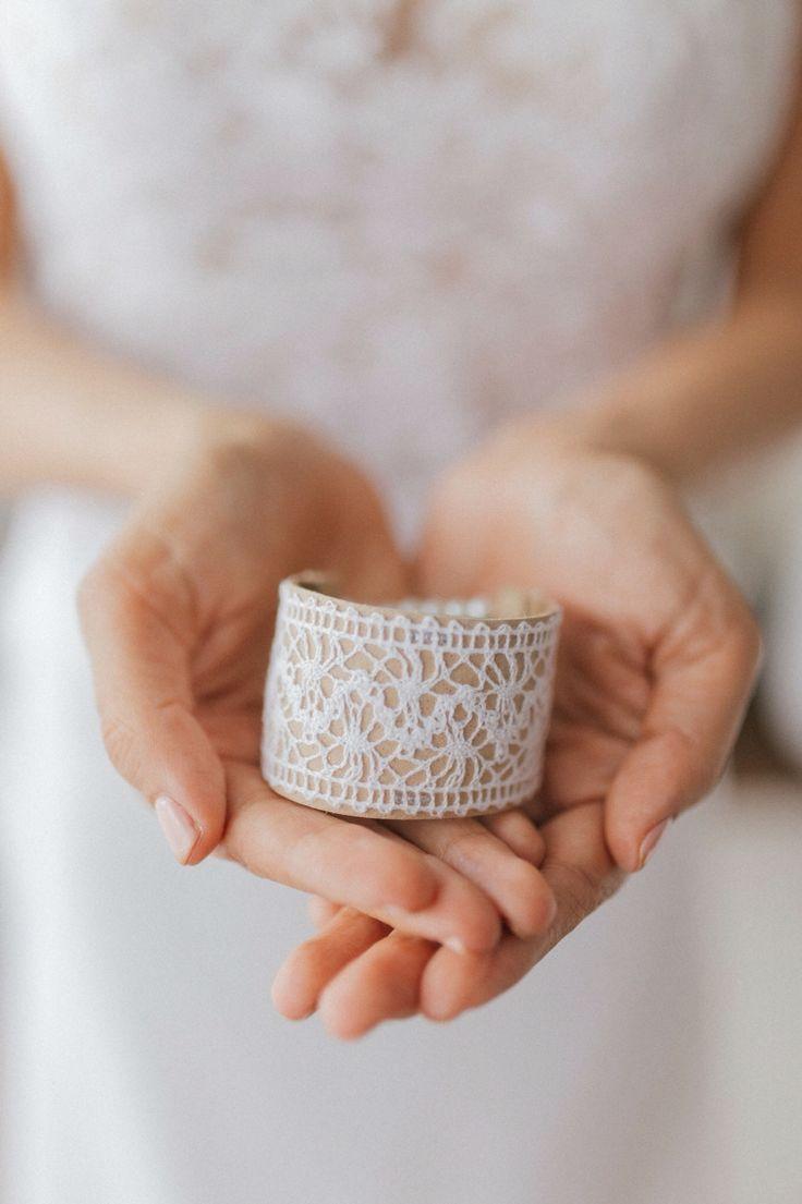 Memshe for the Bride. Leather bracelet. SS16