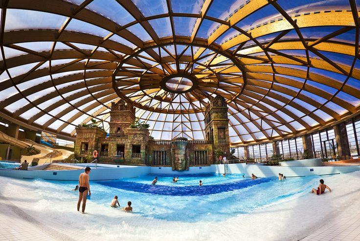 Aquaworld Resort Budapest Spectecular view of aquapark in Budapest.  #aquapark #aquaworld #niceplaces #bath #beautiful #angkor #budapest