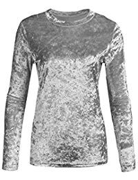 New Zeagoo Women's Velvet Long Sleeve Basic Tunic Shirt Tops S-XXL online. Find the perfect Tiger Hill Tops-Tees from top store. Sku NRVH65644QAXG93103