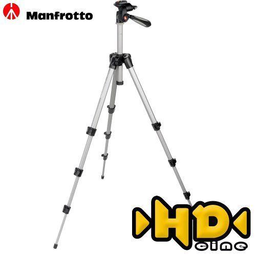Manfrotto Mk393-h - Tripé Foto E Vídeo - Câmera Filmadora - R$ 336,30