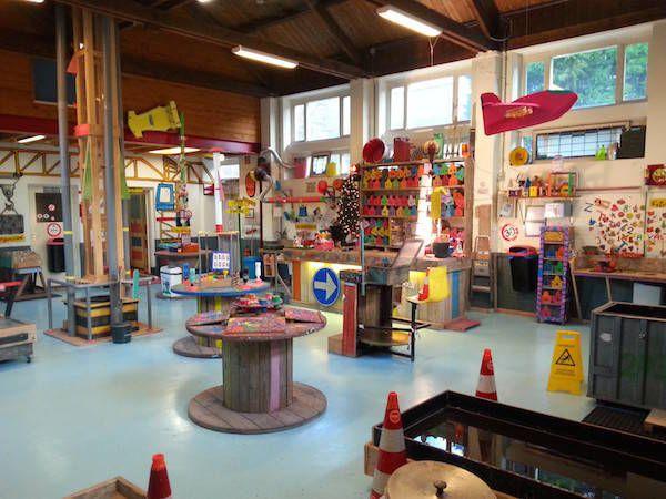 De werkplaats bij De Kinderwerkplaats