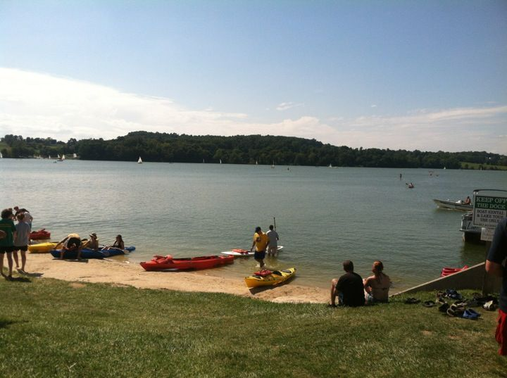 Marsh Creek State Park Lake In Downingtown Pa Is Especially Popular With Sail Boaters And