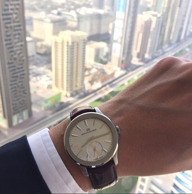 Our Royal Capital in Dubai  #sjöösandström #sjoosandstrom #watch #watches #royalcapital #dubai #worldtour