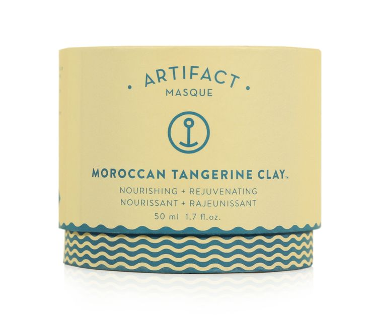 Doux Good - Artifact Skin Co - Masque visage à l'argile  - Moroccan Tangerine Clay