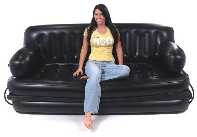 19. Floating Pool Couch